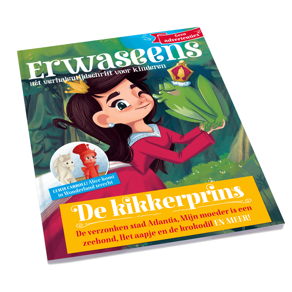 tijdschrift verhalentijdschrift 2 - De kikkerprins